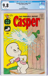 Friendly Ghost Casper #123 File Copy (Harvey, 1968) CGC NM/MT 9.8 White pages