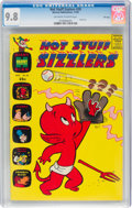 Silver Age (1956-1969):Cartoon Character, Hot Stuff Sizzlers #39 File Copy (Harvey, 1969) CGC NM/MT 9.8 Off-white to white pages....