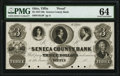 Obsoletes By State:Ohio, Tiffin, OH- Seneca County Bank $3 18__ G4 Wolka 2533-04 PMG Choice Uncirculated 64.. ...