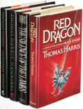 Books:Mystery & Detective Fiction, Thomas Harris. Group of Four Hannibal Lector Books, comprising: Red Dragon. New York: G. P. Putnam's Sons, [1981]. F... (Total: 4 Items)