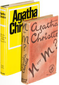 Books:Mystery & Detective Fiction, Agatha Christie. N or M? London: The Crime Club by Collins, [1941]. First edition.... (Total: 2 Items)