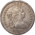 Early Dollars, 1797 $1 9x7 Stars, Large Letters, B-1, BB-73, R.3, XF45 PCGS....