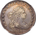 Early Dollars, 1799 $1 7x6 Stars, B-8, BB-165, R.3 -- Whizzed -- NGC Details. AU....