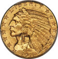 Indian Half Eagles, 1911 $5 MS64+ PCGS. CAC....