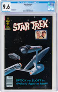 Bronze Age (1970-1979):Science Fiction, Star Trek #55 (Gold Key, 1978) CGC NM+ 9.6 White pages....
