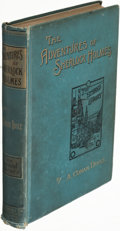 Books:Mystery & Detective Fiction, A[rthur] Conan Doyle. The Adventures of Sherlock Holmes. London: George Newnes Limited, 1892. First edition, first i...