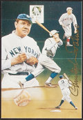 Autographs:Others, Baseball Greats & Hall of Famers Signed Memorabilia Lot of 8.... (Total: 8 items)
