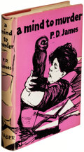 Books:Mystery & Detective Fiction, P. D. James. A Mind to Murder. London: Faber and Faber, [1963]. First edition....