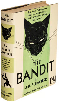 Leslie Charteris. The Bandit. Garden City: The Crime Club, Inc., 1930. First U. S. edition
