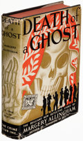 Books:Mystery & Detective Fiction, Margery Allingham. Death of a Ghost. Garden City: The Crime Club, Inc., 1934. First U. S. edition....