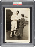 Baseball Collectibles:Photos, 1920 Babe Ruth Sold to New York Yankees Original News Photograph, PSA/DNA Type 1....