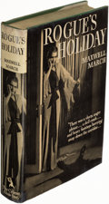 Books:Mystery & Detective Fiction, [Margery Allingham]. Maxwell March (pseudonym). Rogue's Holiday. Garden City: The Crime Club, Inc., 1935. First U. S...