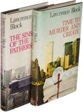 Books:Mystery & Detective Fiction, Lawrence Block. Group of the First Two Matthew Scudder Novels. London: Robert Hale, [1979]. First English and first hardcover ... (Total: 2 Items)