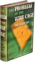 Books:Mystery & Detective Fiction, John Dickson Carr. The Problem of the Wire Cage. New York: Harper & Brothers, Publishers, 1939. First edition.. ...