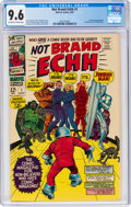 Silver Age (1956-1969):Humor, Not Brand Echh #1 (Marvel, 1967) CGC NM+ 9.6 Off-white to white pages....