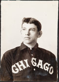 Baseball Collectibles:Photos, c. 1900s Nick Altrock Photograph by Carl Horner - Image Used for Four Cards....
