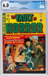 Vault of Horror #14 (EC, 1950) CGC FN 6.0 Cream to off-white pages