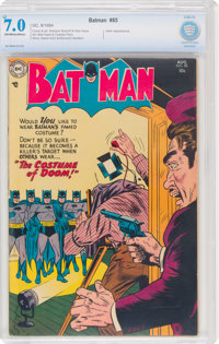 Batman #85 (DC, 1954) CBCS FN/VF 7.0 Off-white to white pages