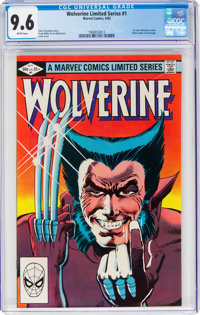Wolverine #1 (Marvel, 1982) CGC NM+ 9.6 White pages