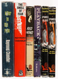 Books:Mystery & Detective Fiction, Raymond Chandler. Group of Six Books, comprising: Killer in the Rain. Boston: Houghton Mifflin Company, 1964. First ... (Total: 6 Items)