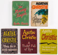 Books:Mystery & Detective Fiction, Agatha Christie. Group of Five Miss Marple Books, comprising: The Mirror Crack'd from Side to Side. London: Crime Cl... (Total: 5 Items)