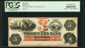McLeansboro, IL- Producers Bank $3 Nov. 1, 1860 G6a Remainder PCGS Extremely Fine 40PPQ