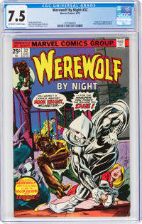 Werewolf by Night #32 (Marvel, 1975) CGC VF- 7.5 Off-white to white pages