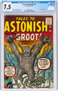 Silver Age (1956-1969):Science Fiction, Tales to Astonish #13 (Marvel, 1960) CGC VF- 7.5 Off-white pages....