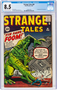 Strange Tales #89 (Marvel, 1961) CGC VF+ 8.5 Cream to off-white pages
