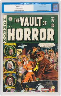Vault of Horror #20 Gaines File Pedigree 1/12 (EC, 1951) CGC NM/MT 9.8 Off-white to white pages