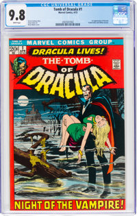 Tomb of Dracula #1 (Marvel, 1972) CGC NM/MT 9.8 White pages