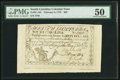 Colonial Notes:South Carolina, South Carolina February 8, 1779 $60 PMG About Uncirculated...