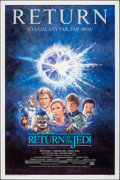 "Movie Posters:Science Fiction, Return of the Jedi (20th Century Fox, R-1985). Rolled, Very Fine+. One Sheet (27"" X 41"") Tom Jung Artwork. Science Fiction...."