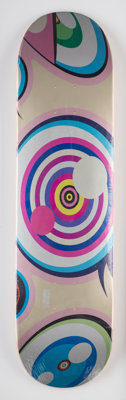 Takashi Murakami X ComplexCon Untitled, from Dobtopus, 2017 Screenprint in colors on skat