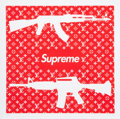 Prints & Multiples, Jack Vitaly (20th century). Supreme Gun, early 21st century. Digital print in colors on smooth wove paper. 18 x 18 inche...