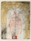 Prints & Multiples, Rufino Tamayo (1899-1991). Femme en Rouge, from Mujeres Suite, 1969. Lithograph in colors on wove paper. 29-7/8 x 22...
