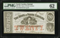 Obsoletes By State:North Carolina, Raleigh, NC- State of North Carolina $20 Jan. 1, 1863 Cr. 120 PMG Uncirculated 62.. ...