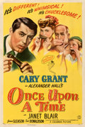 """Movie Posters:Comedy, Once Upon a Time (Columbia, 1944). Fine/Very Fine on Linen. One Sheet (27"""" X 41"""") Style B.. ..."""