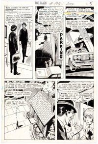 Ross Andru and Mike Esposito The Flash #193 Story Page 5 Original Art (DC Comics, 1969)