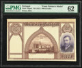 World Currency, Portugal Banco de Portugal 1000 Escudos ND (1927) Pick 142pm1 Front Printer Model PMG Uncirculated 62.. ...