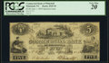 Obsoletes By State:New York, Whitehall, NY- The Commercial Bank of Whitehall $5 June 1, 1850 PCGS Very Fine 20.. ...