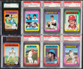 Baseball Cards:Lots, 1975 Topps & Topps Mini Baseball Collection (28) With Stars and HOFers. ...