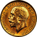 Canada, Canada: George V gold Sovereign 1913-C MS61 NGC,...