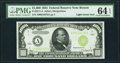 Small Size:Federal Reserve Notes, Fr. 2211-A $1,000 1934 Light Green Seal Federal Reserve Note. PMG Choice Uncirculated 64 EPQ.. ...