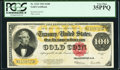 Large Size:Gold Certificates, Fr. 1215 $100 1922 Gold Certificate PCGS Very Fine 35PPQ.. ...