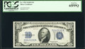 Small Size:Silver Certificates, Fr. 1703 $10 1934B Silver Certificate. PCGS Gem New 65PPQ.. ...
