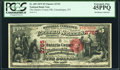 National Bank Notes:New York, Canandaigua, NY - $5 1875 Fr. 405 The Ontario County National Bank Ch. # 2765 PCGS Extremely Fine 45PPQ.. ...