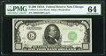 Small Size:Federal Reserve Notes, Fr. 2212-G $1,000 1934A Federal Reserve Note. PMG Choice Uncirculated 64.. ...