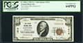 National Bank Notes:Connecticut, Clinton, CT - $10 1929 Ty. 1 The Clinton National Bank Ch. # 1314 PCGS Very Choice New 64PPQ.. ...