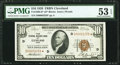 Small Size:Federal Reserve Bank Notes, Fr. 1860-D* $10 1929 Federal Reserve Bank Note. PMG About Uncirculated 53 EPQ.. ...